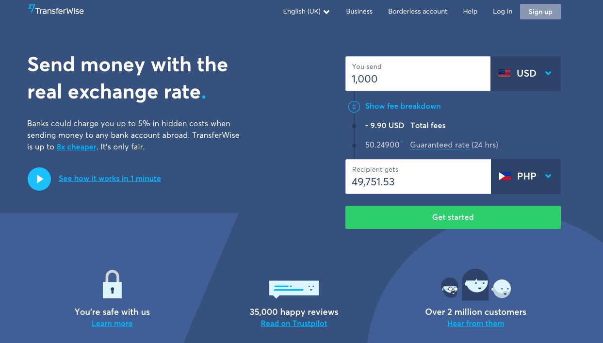 How to Use TransferWise To Send & Receive Money Internationally